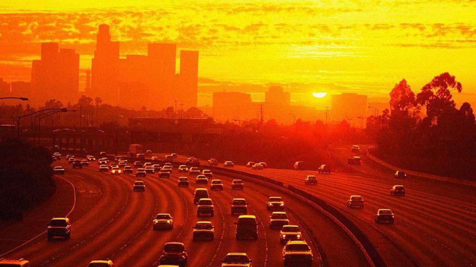 Los Angeles por do sol