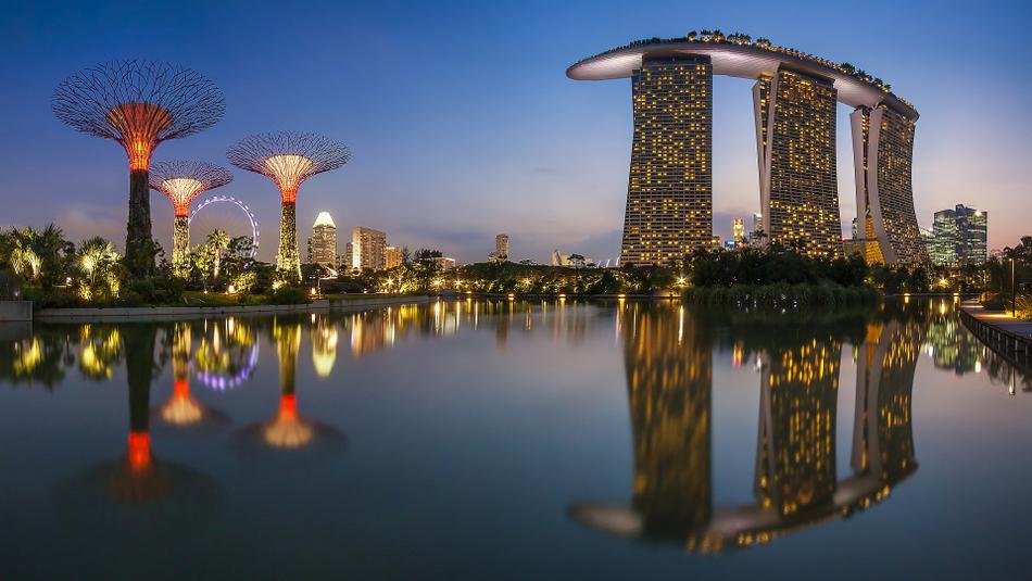 Resultado de imagem para reveillon em singapura