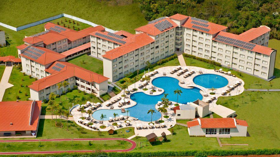 Taua Hotel Atibaia - vista aérea